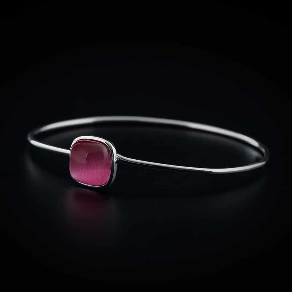 Bracelet en argent et pierre fine collection As bijouterie Côté Argent Castres