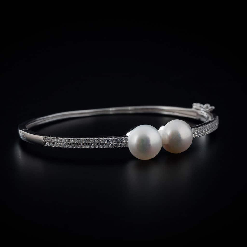 Bracelet en argent et perle collection Perles bijouterie Côté Argent Castres